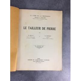 Bidaut Torchet Le tailleur de pierre Coupe de pierre traçage voûte Architecture Métier Le livre de la Profession Caillard