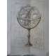 Rivard Lalande Traité de la sphère et du calendrier an vi 1798 armillaire, révolution EO
