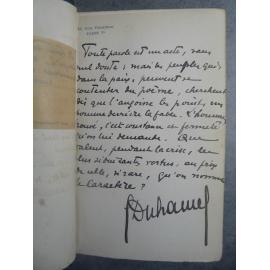 Duhamel Georges La possession du monde grand envoi signé et carte reliure maroquin bibliophilie