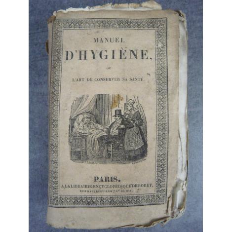 Encyclopédie Roret, Manuel d'hygiène, santé, bien-être