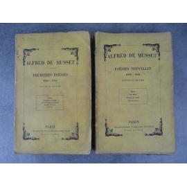 Alfred de Musset, premières poésies 1829 1835 et poésies nouvelles 1856 1852 (romantisme, poésie)