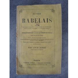 François Rabelais, Œuvres, philosophie, humanisme de la renaissance