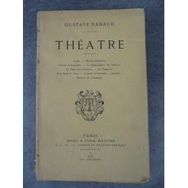 Gustave Nadaud, Théâtre, (littérature, Société du Caveau)