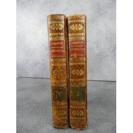 Vertot Révolutions romaines 2 volumes reliés Paris Delalain