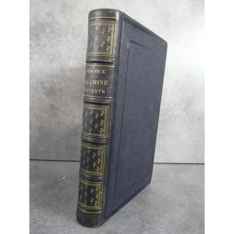 Old Nick, Borget La chine ouverte Edition originale de 1845 avec de nombreuses gravures de Auguste Borget
