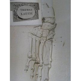 Lisfranc de Saint Martin Nouvelle Méthode opératoire pour l'Amputation partielle du pied Belles provenances. rare et précieux.