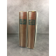 Collection Bibliothèque de la pléiade NRF Roger Martin du Gard Oeuvres complètes 1 et 2