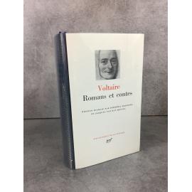 Voltaire Romans et Contes Collection Bibliothèque de la pléiade NRF