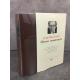 Sartre Jean-Paul Œuvres romanesques Bibliothèque de la pléiade NRF