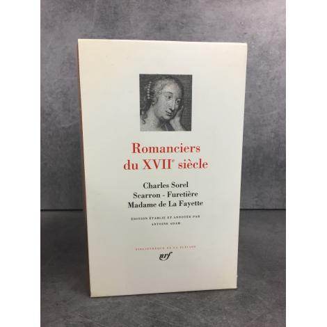 Romanciers du XVIIe siècle Collection Bibliothèque de la pléiade NRF parfait exemplaire état de neuf épuisé