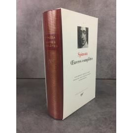 Spinoza Oeuvres complètes Collection Bibliothèque de la pléiade NRF parfait exemplaire
