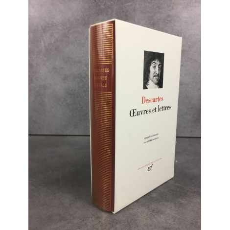 Descartes Oeuvres et lettres Collection Bibliothèque de la pléiade NRF