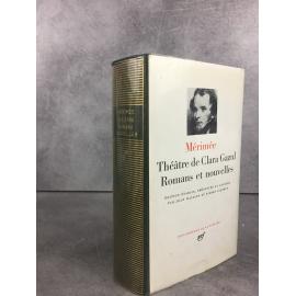 Mérimée Prosper Théatre de Clara Gazul Romans te nouvelles Collection Bibliothèque de la pléiade NRF