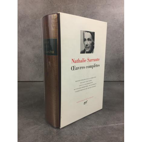 Nathalie Sarraute euvres complètes Bibliothèque de la pléiade NRF 2176 pages 1996 superbe premier tirage