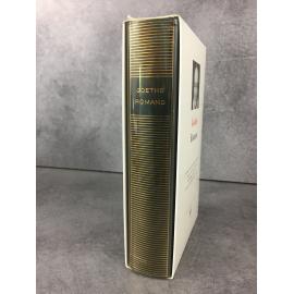 Goethe Romans Bibliothèque de la pléiade NRF Etat de neuf 1996 Werther
