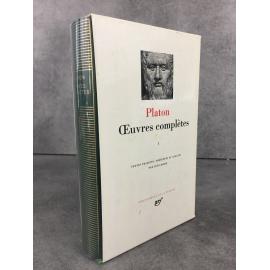 Platon Oeuvres complètes Tome 1Bibliothèque de la pléiade NRF Etat de neuf