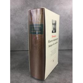 Bernanos Bibliothèque de la pléiade NRF Oeuvres romanesques Dialogues des Carmélites superbe état épuisé.