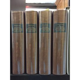 Mauriac Bibliothèque de la pléiade NRF Oeuvres romanesques et théâtrales 4/4 volumes
