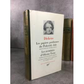 Dickens Charles Bibliothèque de la pléiade NRF Pickwick club Olivier Ttwist