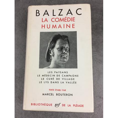 Balzac Honoré Collection Bibliothèque de la pléiade T8 Comédie Humaine les paysans médecin de campagne