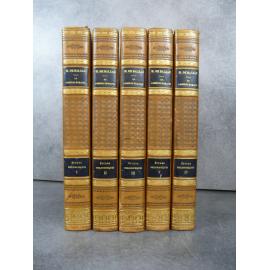 Balzac Etudes philosophiques reliures signées de Yseux successeur de Simier Edition de référence