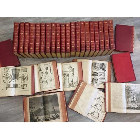 Diderot Encyclopédie ou dictionnaire raisonné des sciences, des arts et des métiers Edition originale. in folio 1751