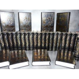 Balzac La comédie humaine Jean de Bonnot 28 volumes complet très bel exemplaire reliures cuir.