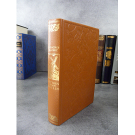 Daudet Lettres de mon moulin Jean de Bonnot Bel exemplaire etat de neuf reliure cuir.1982