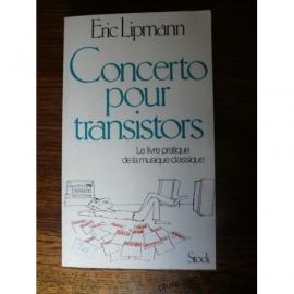 LIPMANN ERIC CONCERTO POUR TRANSISTOR