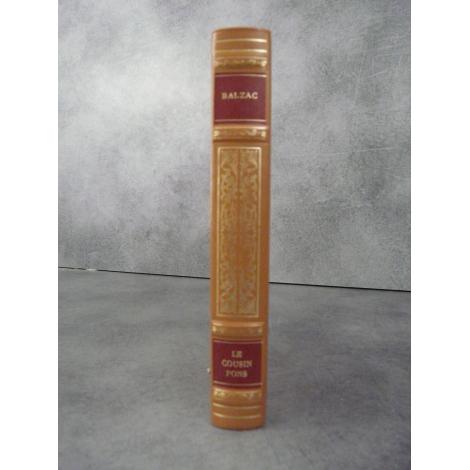 Balzac Le cousin Pons Collection Garnier Prestige pleine reliure cuir éditeur tête dorée