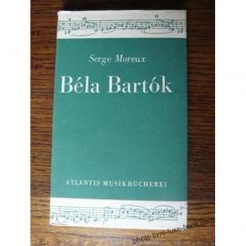 BELA BARTOK SERGE MOREUX OUVRAGE EN LANGUE ALLEMANDE DEUTCH