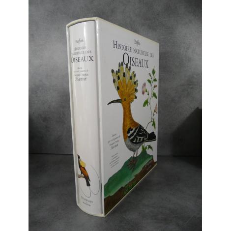 Geant Folio Les oiseaux Buffon Martinet Citadelles Mazenod Sous emboitage 1008 Gravures