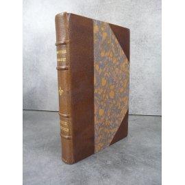 Goncourt Edmond et Jules Renée Mauperin bibliophile sur vélin Reliure maroquin signée bel exemplaire