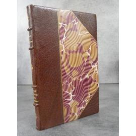Varillon Veille au large avec nos marins Edition originale N°109 grand papier, superbe reliure maroquin signée.