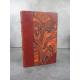 Fouques Duparc Le troisieme richelieu Edition originale 1940 sur Alfa reliure chagrin rouge .1815 seconde restauration