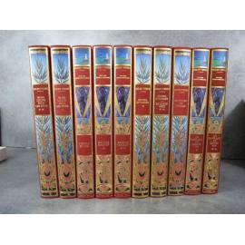 Jules Verne Michel de L'Ormeraie Hetzel 10 vol série 2 complète, état de neuf splendide