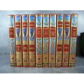 Jules Verne Michel de L'Ormeraie Hetzel 10 vol série 3 complète, état de neuf splendide