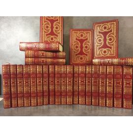 Balzac Oeuvres Comédie humaine, Contes etc...26 vol in 8 , facsimilé exemplaire annoté de Balzac Reliures superbe.