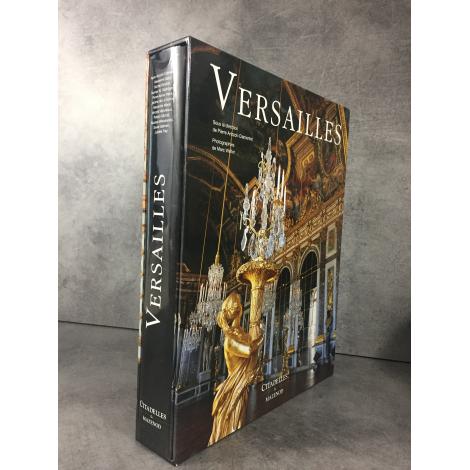 Collectif Versailles Beau livre sous emboitage Arizzoli Clementel Citadelles Mazenod Cadeau beau livre 2013