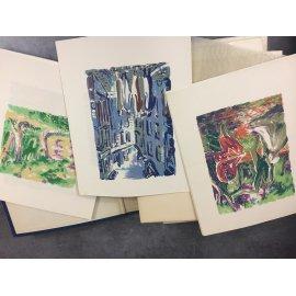 Duhamel Georges, Steinlen Suzanne et les jeunes hommes illustré moderne Exemplaire de tète avec suite