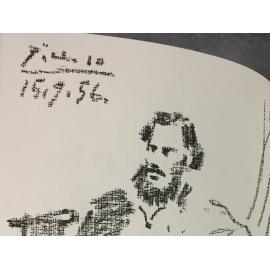 Tolstoï Léon et Picasso lithographie originale la guerre et la paix 3 volumes numéroté