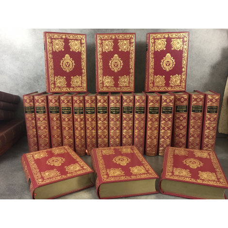 Jean de Bonnot Saint-Simon Mémoires exemplaire 1977 complet 20 vol Etat collector + 1 bel exemplaire