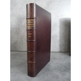 Delachenal Histoire des avocats parlement de Paris Ecole des Chartes Reliure plein maroquin bibliophilie