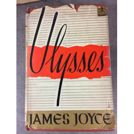 James Joyce Ulysses Modern Library 1946 with used jacket