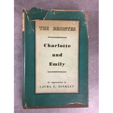 Hinkley Laura The Brontes Chrlotte and Emily 1st Edition 1947