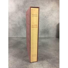 Hawthorne La lettre écarlate Van Dongen lithographie Imprimerie Nationale Sauret numéroté Beau livre état de neuf