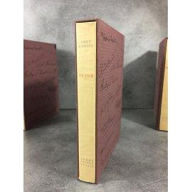 Knut Hamsun La Faim Vlaminck Imprimerie Nationale Sauret numéroté lithographie Beau livre état de neuf