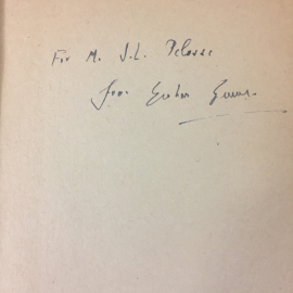 Signed by Graham Greene Brighton Rock Heinemann 1947