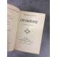 Daudet Alphonse L'Evangéliste Maroquin de Trinckvel exemplaire sur papier de hollande