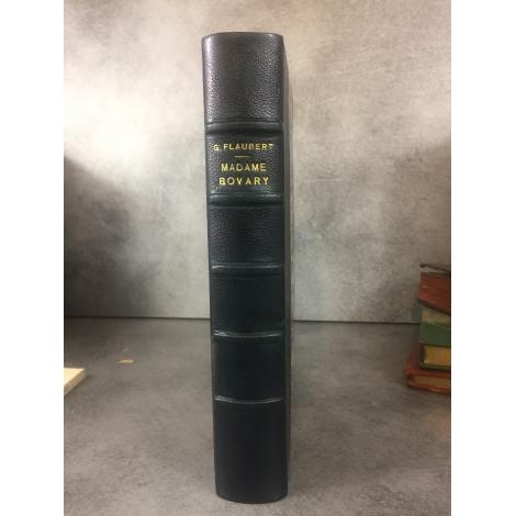 Flaubert Madame Bovary Quentin 1885 12 Eaux fortes de Fourié Bel exemplaire très pur